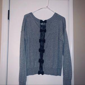 Lauren Conrad bow sweater